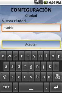Android aplicacion - Cartelera de Cine