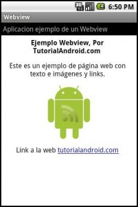 Ejemplo Webview por tutorialandroid