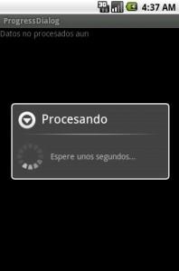 Programacion Android -ProgressDialog 2