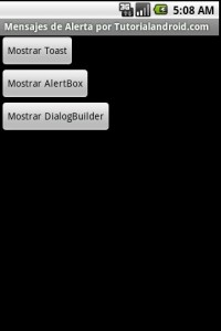 Programacion Android - AlertDialog 1