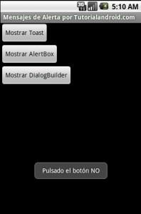 Programacion Android - AlertDialog 5