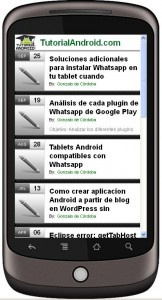 TutorialAndroid Version Movil